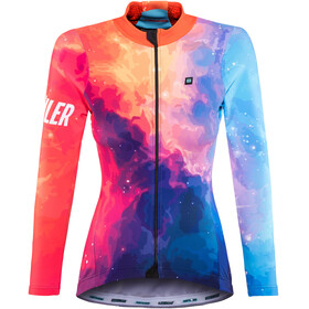 Biehler Thermal Rain - Maillot manga larga Mujer - Multicolor